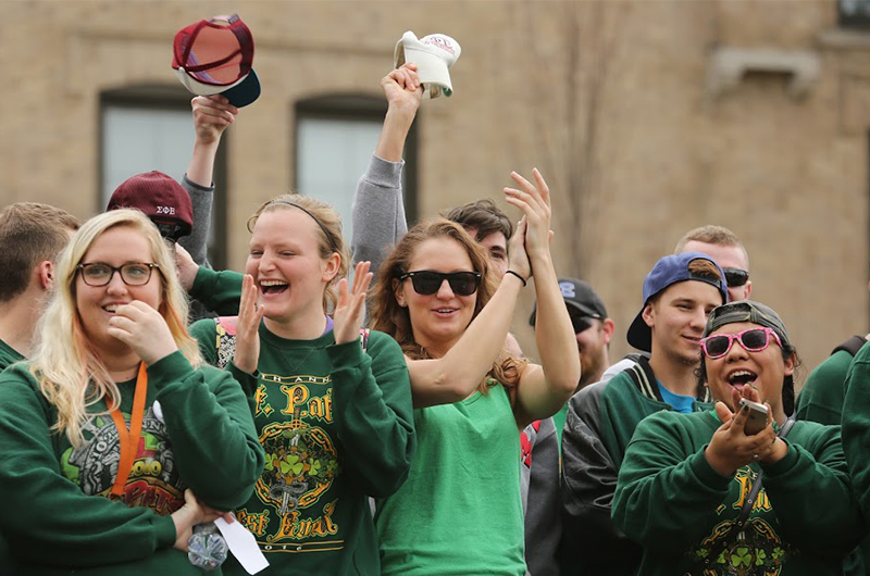 S&T students at St.Pat's parade